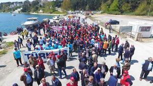 Sinop'ta 1 Mayıs coşkusu