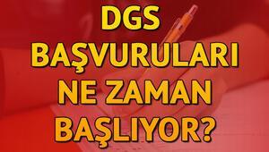 DGS başvuruları ne zaman DGS sınav tarihi değiştirildi