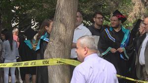 Mezuniyet törenlerinde bomba paniği