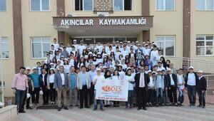 Öğrenciler Kapadokyayı gezdi