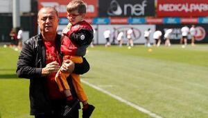 Galatasarayda çalışmalar sürüyor