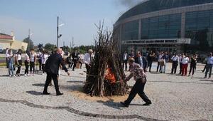 Trakya Üniversitesinde kakava kutlaması