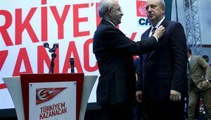Kılıçdaroğlu, CHPnin cumhurbaşkanı adayını resmen açıkladı