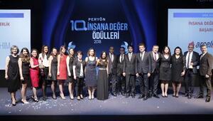 """PERYÖN, Türkiye'nin """"insana değer"""" uygulamalarını ödüllendirdi"""