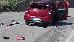 Kız istemeye giderken kaza yaptılar: 2 ölü, 4 yaralı