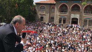 Muharrem İnce 1. Meclisin önünde konuştu