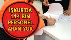 İŞKUR iş ilanları aracılığıyla 114 bin personel aranıyor | Güncel İŞKUR ilanları
