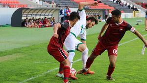 Gaziantepte 9 gollü müthiş maç