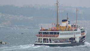 Dikkat İstanbulda bazı vapur seferleri 7 Mayısa kadar iptal edildi