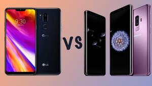 LG G7 ThinQ mu Samsung Galaxy S9 mu