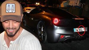 Murat Boz yeni otomobiline servet ödedi... Plakaya dikkat