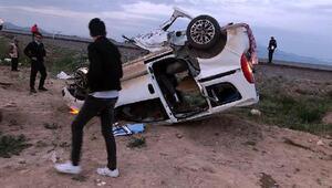 Miting dönüşü kaza: 2 ölü, 6 yaralı