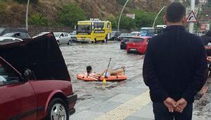Başkenti yine sağanak vurdu, ev ve işyerini su bastı/ Ek fotoğraflar