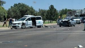 Googleın sürücüsüz otomobili Waymo kaza yaptı