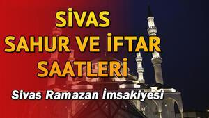 Sivas'ta ilk sahura kaçta kalkılacak 2018 Sivas sahur ve iftar vakitleri