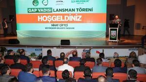 Türkiye'nin en büyük yeşil alanı Şanlıurfa'da yapılıyor