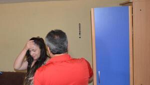 Fuhuş operasyonunda Gürcü kadın, elbise dolabından çıktı