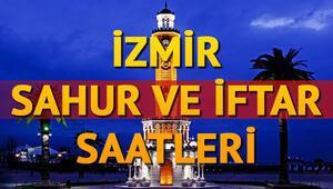İzmir ilk sahur saati   İzmir 2018 sahur ve iftar vakitleri