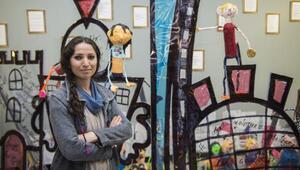 İde okulları öğrencileri Kristal cennet ve şehir tutsakları eseriyle 5inci Çocuk ve Gençlik Sanat Bienalinde