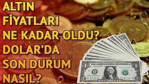 Altın, dolar ve euro ne kadar oldu Döviz ve altın fiyatlarında bugün