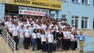 Şarköy Anadolu Lisesinde Bilim Fuarı