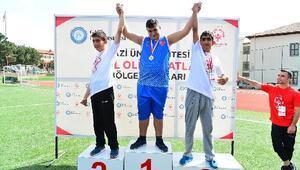 Özel sporculardan büyük başarı