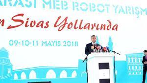 '3 bin robotlu' yarışma başladı