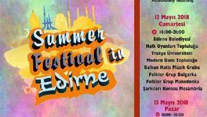 Edirnedeki yaz festivalinde Türk-Bulgar esintileri