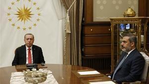 Cumhurbaşkanı Erdoğan Hakan Fidanı kabul etti