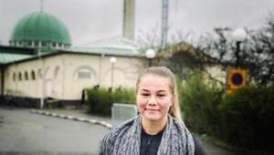 Müslüman kadın kaleci, İsveç'te olay oldu
