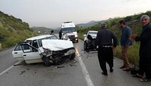 Altınözünde kaza: 5 yaralı