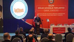 Bakan Soylu: Seçimlerde enerji altyapısına dair önem arz eden yerler korunacak