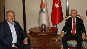 Erdoğan ile İnce ne konuştu Çay eşliğinde ilginç diyalog