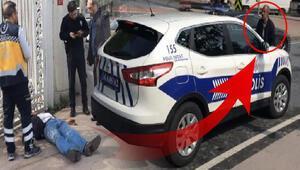Beşiktaşta polisin zor anları Yerde yatıyordu bir anda…