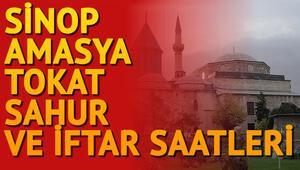 Sinop, Amasya, Tokat ilk sahur ve iftar saat kaçta 2018 imsakiye bilgileri