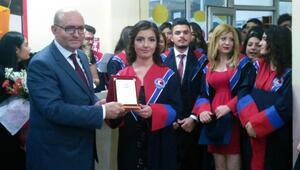 Ağlasun MYOda mezuniyet sevinci