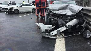 Düzcede kaza: 3 yaralı