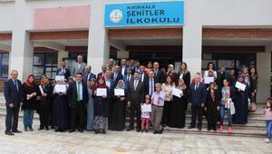 Kırıkkale'de 65 yaşında okuma yazma öğrendi