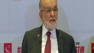 Karamollaoğlu İstanbulda gazetecilerle bir araya geldi