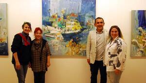 Trabzonlu ressam Gaziantepte sergi açtı