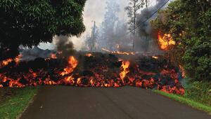 Hawaii'ye yerleşen eski  Dream Tv sunucusu yazdı Kaderde böyle  bir afete tanıklık  etmek de varmış...