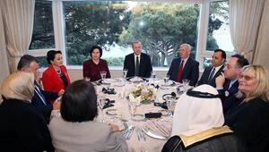 Cumhurbaşkanı Erdoğan yüksek yargı ile yemekte buluştu