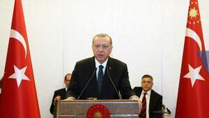 Cumhurbaşkanı Erdoğan, Danıştayın kuruluş yıl dönümü yemeğine katıldı