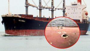 Yemen yolunda Türk gemisinde patlama