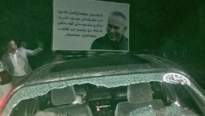 Iraktaki seçimlerde, Süleymaniyede parti binası tarandı