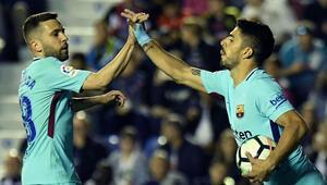 Barça son maçta çarpıldı Hedef güme gitti...
