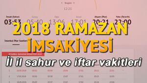 Sahura saat kaçta kalkılacak İşte İstanbul, Ankara, İzmir ve tüm illerin sahur vakitleri