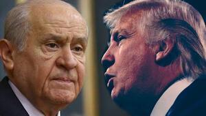 Bahçeli:  Trump alnına kara leke sürdü
