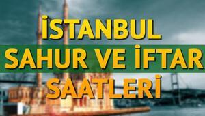 İstanbulda sahura saat kaçta kalkılacak - 2018 Ramazan imsakiyesi ve iftar saatleri