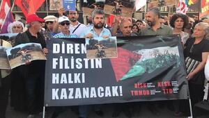 Kadıköyde Kudüs protestoları